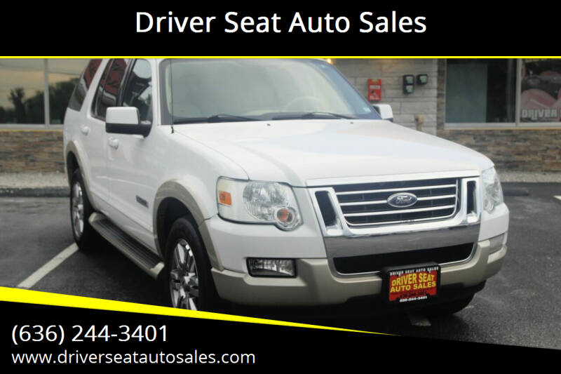 2006 Ford Explorer for sale at Driver Seat Auto Sales in Saint Charles MO