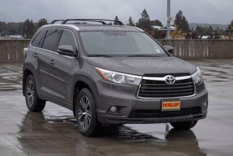 2016 Toyota Highlander for sale at Washington Auto Credit in Puyallup WA