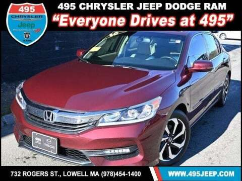 2016 Honda Accord for sale at 495 Chrysler Jeep Dodge Ram in Lowell MA