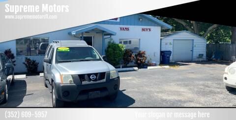 2006 Nissan Xterra for sale at Supreme Motors in Tavares FL