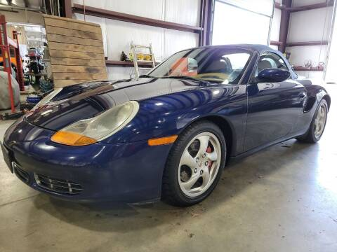 2001 Porsche Boxster for sale at Hometown Automotive Service & Sales in Holliston MA