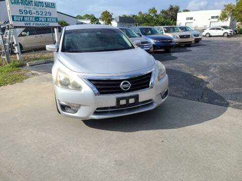 2013 Nissan Altima for sale at CAR-RIGHT AUTO SALES INC in Naples FL
