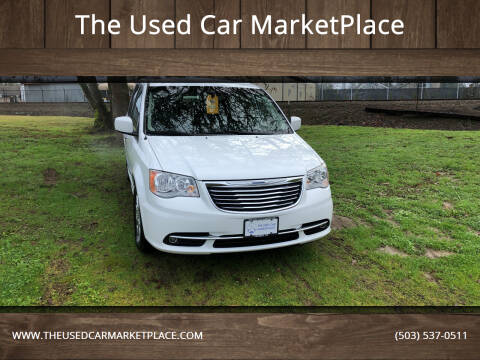 2014 Chrysler Town and Country for sale at The Used Car MarketPlace in Newberg OR