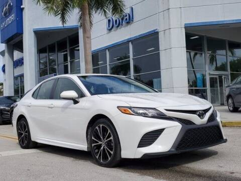2018 Toyota Camry for sale at DORAL HYUNDAI in Doral FL