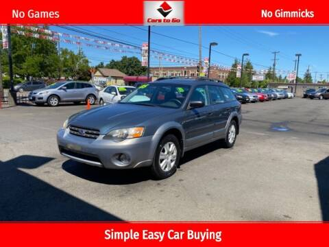 2005 Subaru Outback for sale at Cars To Go in Portland OR