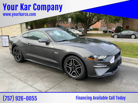 2018 Ford Mustang for sale at Your Kar Company in Norfolk VA