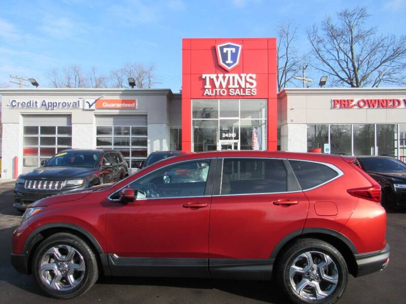 2017 Honda CR-V for sale at Twins Auto Sales Inc in Detroit MI