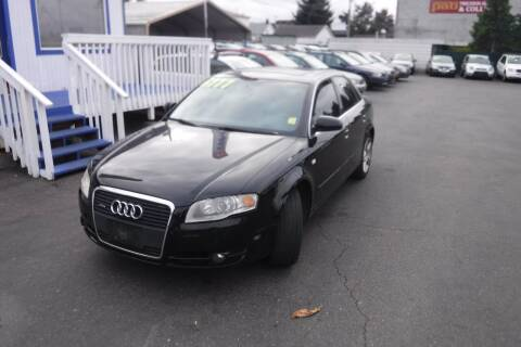 2007 Audi A4 for sale at 777 Auto Sales and Service in Tacoma WA
