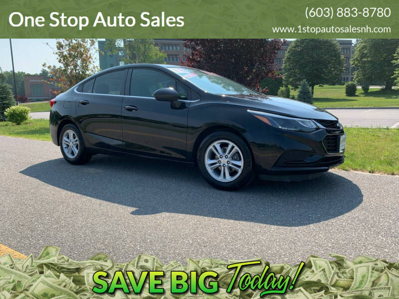 2018 Chevrolet Cruze for sale at One Stop Auto Sales in Hudson NH