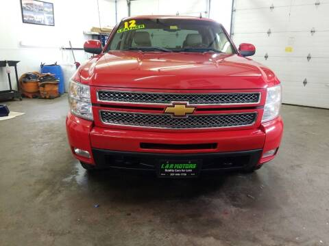 2012 Chevrolet Silverado 1500 for sale at L & R Motors in Greene ME
