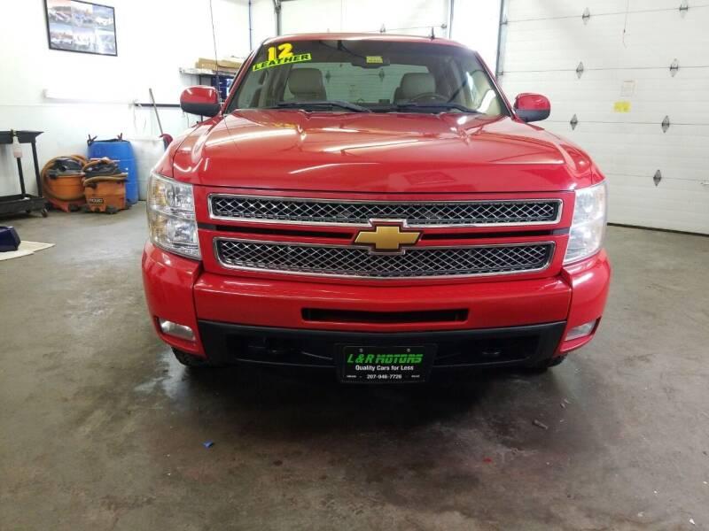 2012 Chevrolet Silverado 1500 for sale at L & R Motors in Greene ME