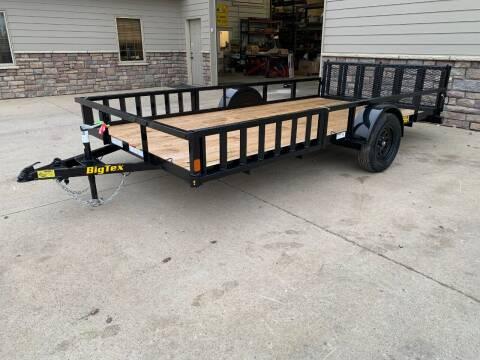 2021 Big Tex 35SA-14 RSX #9130 for sale at Prairie Wind Trailers, LLC in Harrisburg SD