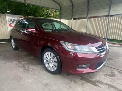 2014 Honda Accord for sale at Dominique Auto Sales in Opelousas LA