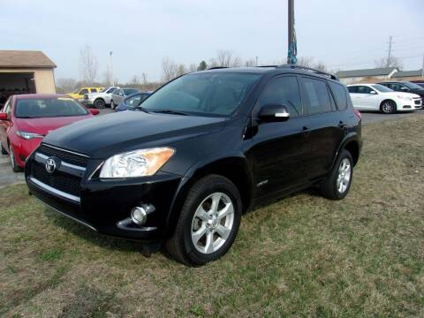 2011 Toyota RAV4 for sale at DAVE KNAPP USED CARS in Lapeer MI