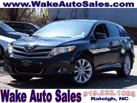 2014 Toyota Venza for sale at Wake Auto Sales Inc in Raleigh NC