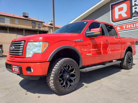 2011 Ford F-150 for sale at Red Rock Auto Sales in Saint George UT