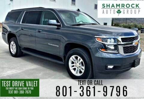 2016 Chevrolet Suburban for sale at Shamrock Group LLC #1 in Pleasant Grove UT
