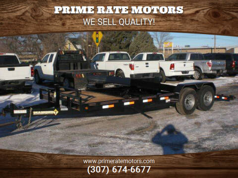 2021 Diamond-T 20FT TILT DECK TRAILER for sale at PRIME RATE MOTORS in Sheridan WY