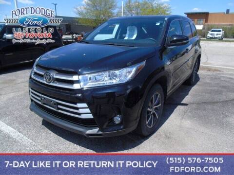 2019 Toyota Highlander for sale at Fort Dodge Ford Lincoln Toyota in Fort Dodge IA