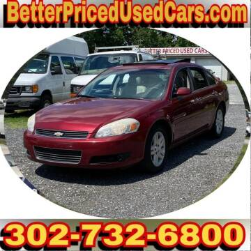 2007 Chevrolet Impala for sale at Better Priced Used Cars in Frankford DE