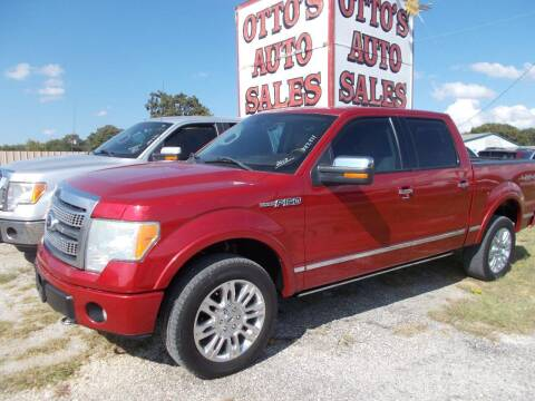 2010 Ford F-150 for sale at OTTO'S AUTO SALES in Gainesville TX