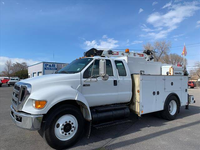 2008 Ford F-650 Super Duty for sale at P & R Auto Sales in Pocatello ID