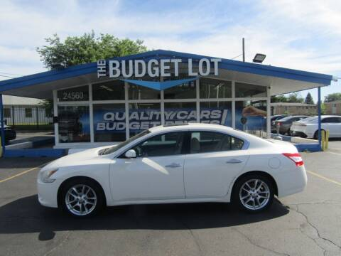 2010 Nissan Maxima for sale at THE BUDGET LOT in Detroit MI
