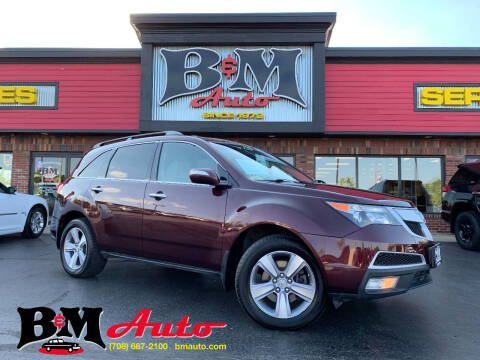 2011 Acura MDX for sale at B & M Auto Sales Inc. in Oak Forest IL