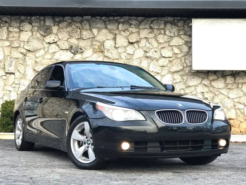 2007 BMW 5 Series for sale at ATLAS AUTOS in Marietta GA