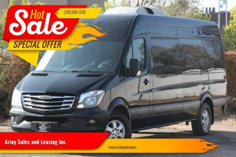 2015 Freightliner Sprinter Passenger for sale at Ariay Sales and Leasing Inc. - Pre Owned Storage Lot in Glendale CO