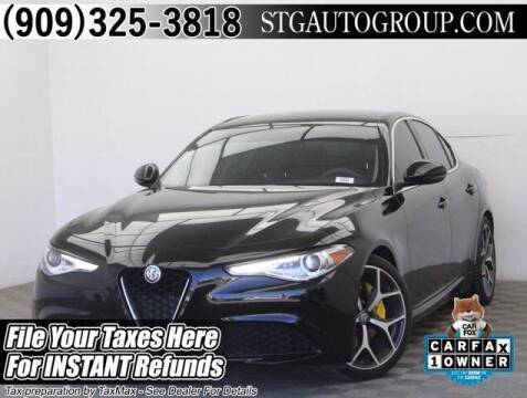 2019 Alfa Romeo Giulia for sale at STG Auto Group in Montclair CA
