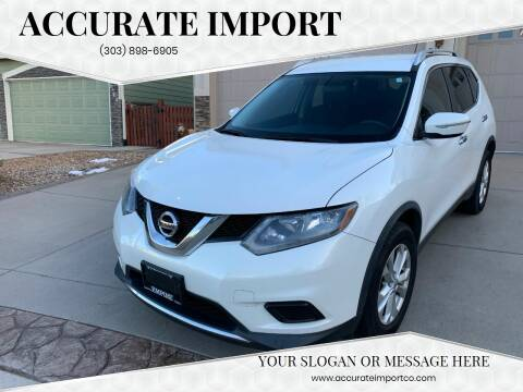 2014 Nissan Rogue for sale at Accurate Import in Englewood CO