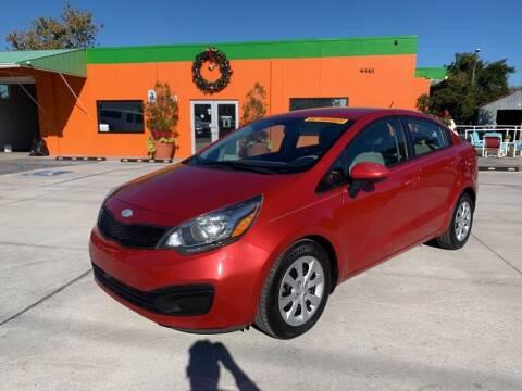 2013 Kia Rio for sale at Galaxy Auto Service, Inc. in Orlando FL