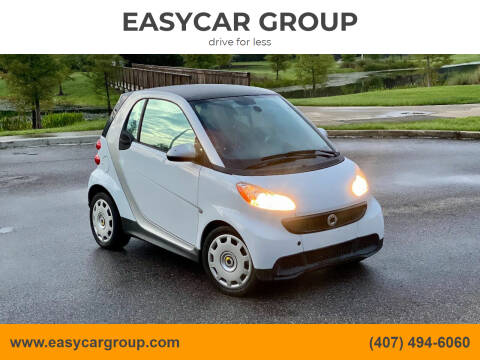 2015 Smart fortwo for sale at EASYCAR GROUP in Orlando FL