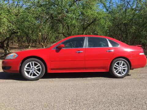 2013 Chevrolet Impala for sale at M AND S CAR SALES LLC in Independence OR