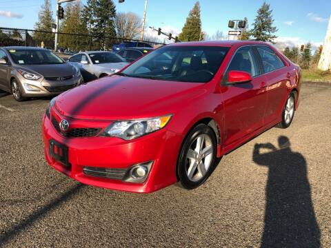 2014 Toyota Camry for sale at KARMA AUTO SALES in Federal Way WA