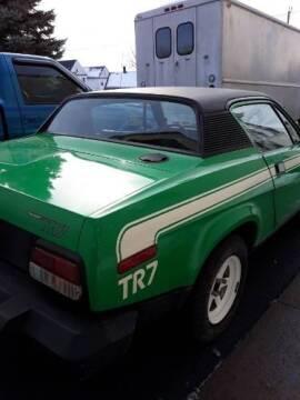 1976 Triumph TR7 for sale at Classic Car Deals in Cadillac MI