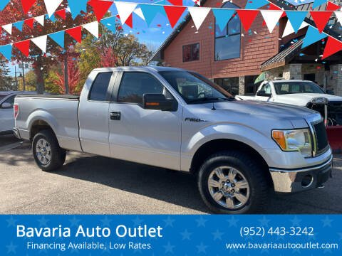 2010 Ford F-150 for sale at Bavaria Auto Outlet in Victoria MN