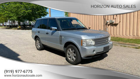 2008 Land Rover Range Rover for sale at Horizon Auto Sales in Raleigh NC