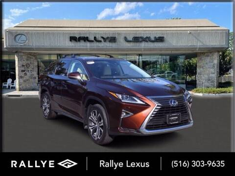 2018 Lexus RX 350L for sale at RALLYE LEXUS in Glen Cove NY