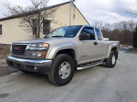 2004 GMC Canyon for sale at Wallet Wise Wheels in Montgomery NY
