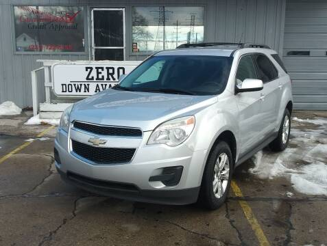 2011 Chevrolet Equinox for sale at Wicked Motorsports in Muskegon MI
