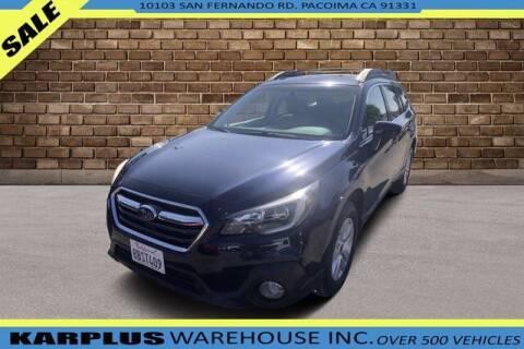 2018 Subaru Outback for sale at Karplus Warehouse in Pacoima CA