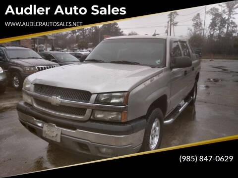 2005 Chevrolet Avalanche for sale at Audler Auto Sales in Slidell LA
