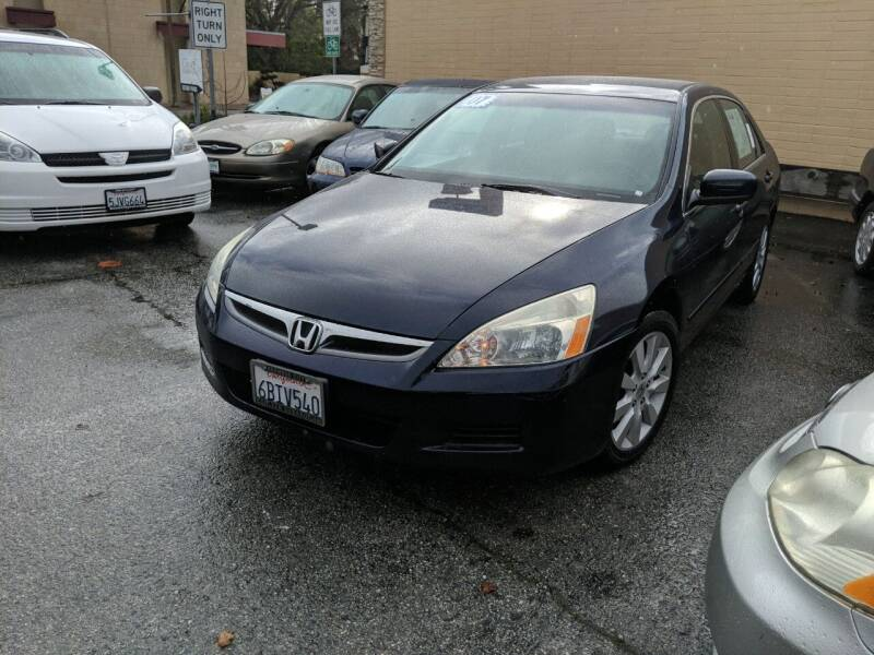 2007 Honda Accord for sale at Auto City in Redwood City CA