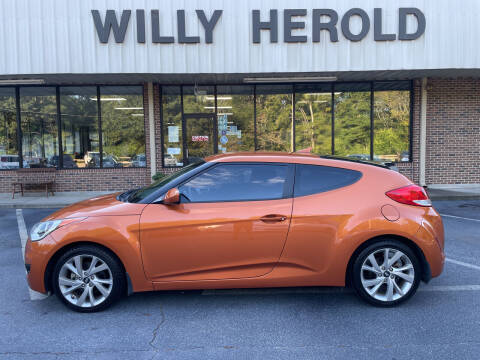 2016 Hyundai Veloster for sale at Willy Herold Automotive in Columbus GA
