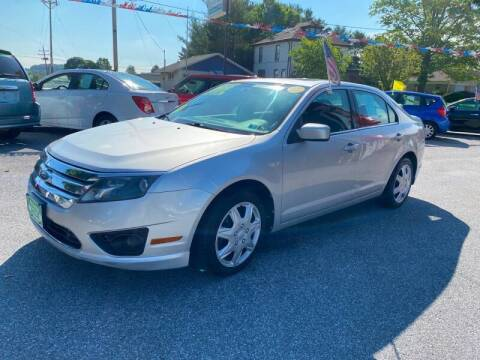 2010 Ford Fusion for sale at McNamara Auto Sales - Kenneth Road Lot in York PA