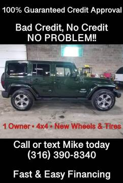 2011 Jeep Wrangler Unlimited for sale at Affordable Mobility Solutions, LLC - Standard Vehicles in Wichita KS