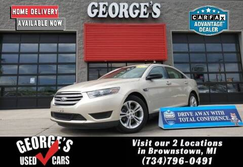 2017 Ford Taurus for sale at George's Used Cars - Pennsylvania & Allen in Brownstown MI