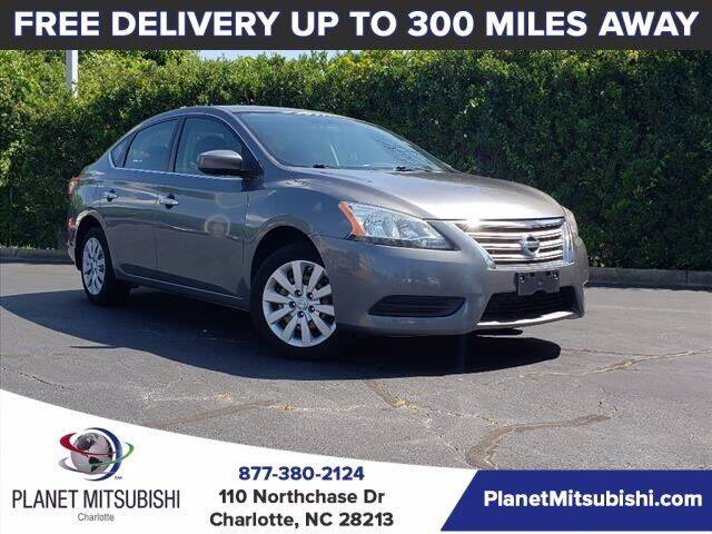 2015 Nissan Sentra for sale at Planet Automotive Group in Charlotte NC